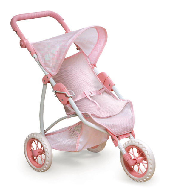 Three Wheel Jogging  Doll Stroller