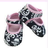 Mid Summer Dream Baby Booties