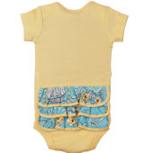 Birdy N Bloom Ruffle Onesie