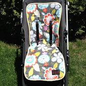 Bebe Chic Chirp Reversible Stroller Liner