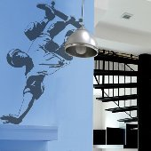 Skateboarder - Sudden Shadows Wall Decals