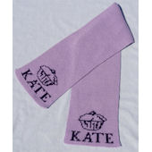 Personalized Cupcake  Scarf