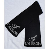 Personalized Guitar Scarf