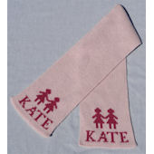 Personalized Paperdolls Scarf
