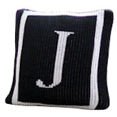 Personalized Budior Pillow  Monogram Single Border