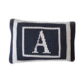 Personalized Budior Pillow  Monogram Double Border