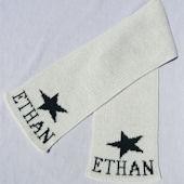 Personalized Star  Scarf