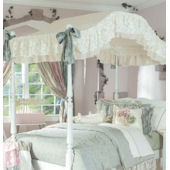 Chloe Canopy Bedding in Antique