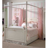 Isabella Canopy Bedding in Pink