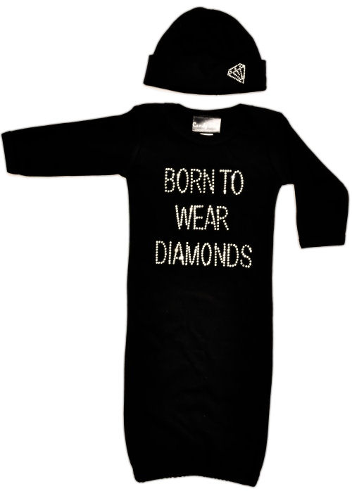 Candy Shop Kids Born to Wear Diamonds Outfit