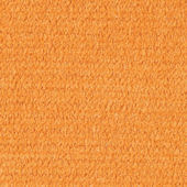 Orange Crush Chenille Creation Rug