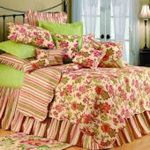 Deanna Floral Quilted Bedding