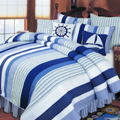 Nantucket Dream Nautical Quilted Bedding