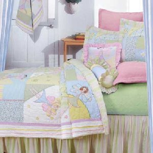 Pixie Chix Quilt Bedding Set