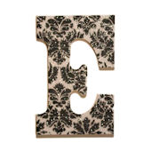 Posh Glitter Dusted Wooden Wall Letter