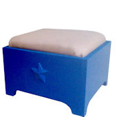 Charn Bradley Cushioned Step Stool