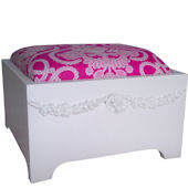 Charn Emma Swag Cushioned Step Stool