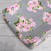 Caden Lane Vintage Floral Changing Pad Cover