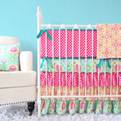 Caden Lane Lily Pad Crib Set