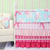 Caden Lane Pink Penelope Crib Set