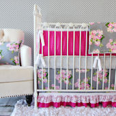 Caden Lane Vintage Floral Crib Set