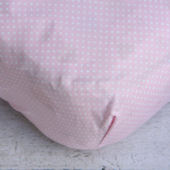 Caden Lane Pink Penelope Crib Sheet