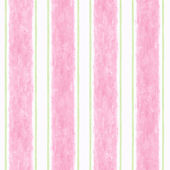 Candice Olson Pink Cabana Stripe  Wallpaper