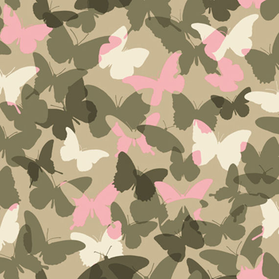 Candice olson pink and green camo wallpaper the frog and for Camo wallpaper for walls