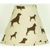 N. Selby Houndstooth Lamp Shade