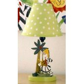 Cotton Tales Paradise Lamp and Shade