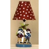 Cotton Tales Pirates Cove Lamp and Shade