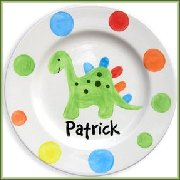 Customized Baby Ceramic Plate