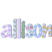 Allison  Wooden Wall Letters