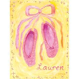 Ballet Shoes Wall Art