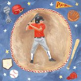 Baseball Star Boy Wall Art