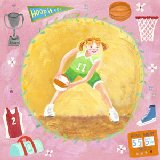 Basketball Star Girl Wall Art