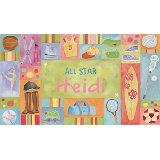 Sports All Star Girl Wall Art