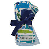 Blue Zoo Minky Cuddly Wuddlees Blanket
