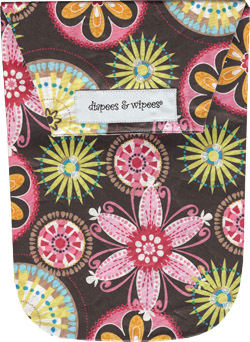 Carnival Bloom Waterproof Diapees and Wipees