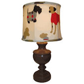 Doodlefish Best Friend Dog Lamp