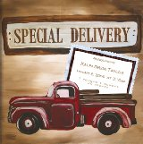 Special Delivery Boy by Drooz Studio Wall Art