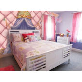 Princess Canopy Full Size 8 Panel Wall Mural