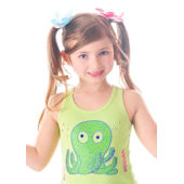 Flirt Couture Octopus Bling Shirt