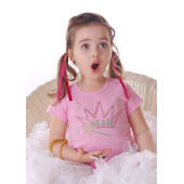 Flirt Couture Princess Crown and Wand Bling Shirt