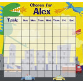 Frecklebox  Dinos Personalized Chore Chart
