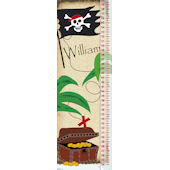 Frecklebox Pirate Personalized Growth Chart
