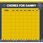 Frecklebox Robotz Personalized Chore Chart
