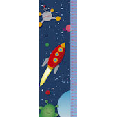 Frecklebox Space Personalized Growth Chart