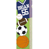 Frecklebox Sports Personalized Growth Chart