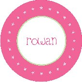 Your a Star Pink Personalized Dinnerware